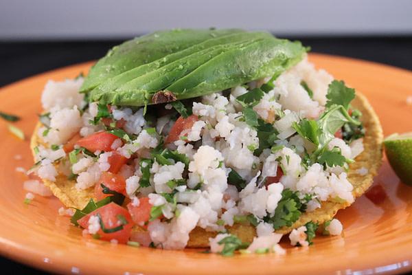 Tostada de Ceviche